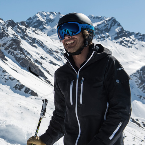 Kristof Van henden - your personal ski concierge/instructor for the Mont Cervin Palace in Zermatt